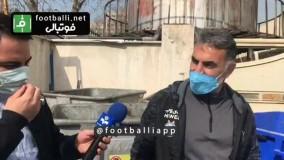 اعتراض هواداران به محمود فکری و واکنش فکری