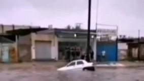 غرق شدن یک نفر در آبگرفتگی شهر بهبهان