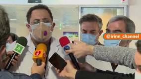 آخرین وضعیت انصاریان و حضور هواداران در بیمارستان