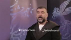 شباهت سینما به فوتبال از نگاه علی انصاریان