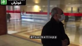 حضور مدیرعامل اسبق پرسپولیس در بیمارستان
