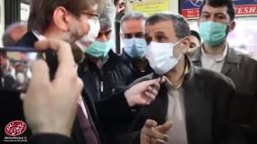 واکنش تند احمدی نژاد به سخنان حداد عادل