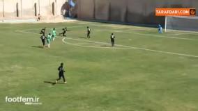 یک گل ناب در فوتبال بانوان ایران