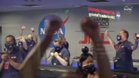 اولین ویدئوی رنگی از فرود مریخ نورد ناسا بر سطح مریخ