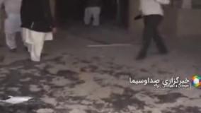 گزارش صدا و سیما از حمله معترضین به ساختمان فرمانداری سراوان