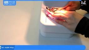 مراحل ساده و راحت دوخت دستکش نوزاد