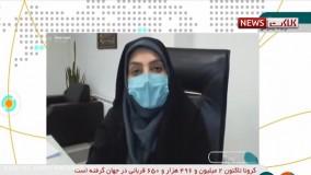 آخرین آمار کرونا در ایران، ۶ اسفند ۹۹: فوت ۷۳ نفر در شبانه روز گذشته
