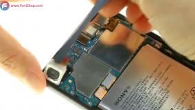 آموزش تعویض باتری گوشی sony xperia x - فونی شاپ