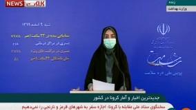 آخرین آمار کرونا در ایران، ۹ اسفند ۹۹: فوت ۸۱ نفر در شبانه روز گذشته
