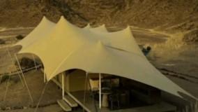 قیمت سقف سایبان برزنتی حیاط ویلا استخر شرکت مهلر