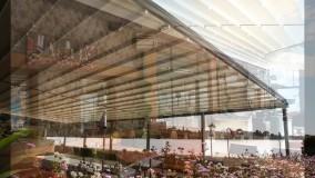 حقانی 09380039391-سقف متحرک رستوران-سایبان برقی کافه رستوران عربی
