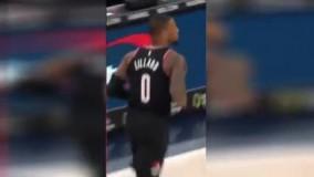 خوشحالی جالب ستاره NBA بعد از گلزنی