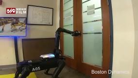 سگ رباتیک با شارژ خودکار رونمایی شد
