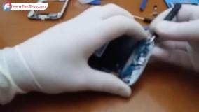 نحوه تعویض صفحه نمایش گوشی سامسونگ S4 - فونی شاپ