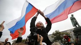 حضور عجیب مقامات کشورهای اروپایی در تظاهرات خیابانی روسیه