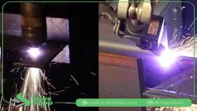 روش برش لیزری تیرآهن هاش