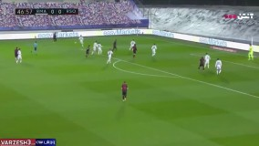 خلاصه بازی رئال مادرید 1 - رئال سوسیداد 1