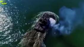 ورود نخستین هاور کرافت پیشرفته ساخت ایران به خلیج فارس