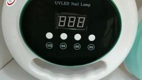 دستگاه کاشت ناخن یو وی f9 باران بیوتی