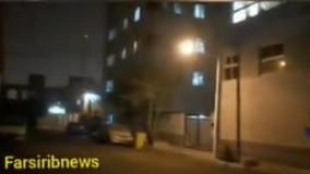 طوفان شدید در شیراز