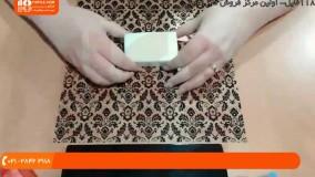 استفاده از پوش کادوی شفاف برای بسته بندی صابون دست ساز