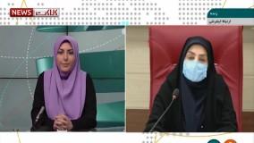 آخرین آمار کرونا در ایران، ۲۴ اسفند ۹۹: فوت ۸۸ نفر در شبانه روز گذشته