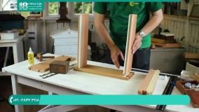 آموزش ایجاد تهویه در کندو زنبور عسل چوبی