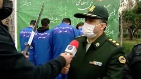 """رونمایی از """"مردِ زن نما"""" در طرح رعد و اقتدار پلیس پایتخت !"""