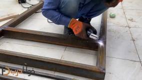 ساخت چهارچوب درب ساختمانی