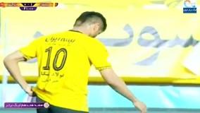 خلاصه بازی سپاهان ۲ - تراکتور ۰