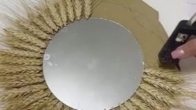 ساخت آیینه ی زیبا برای سفره هفت سین عید نوروز