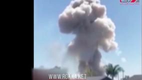 انفجار مهیب ناشی از لوازم آتش بازی در آمریکا