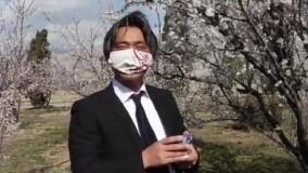 تبریک نوروزی دیپلمات های ژاپنی به زبان فارسی