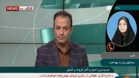 آخرین آمار کرونا در ایران، ۱۲ اسفند ۹۹: فوت ۸۶ نفر در شبانه روز گذشته
