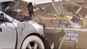 تست تصادف خودروهای شورلت در 50 سال پیشرفت