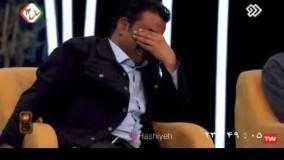 اشک های نصرالله رادش در یک برنامه تلویزیونی 2