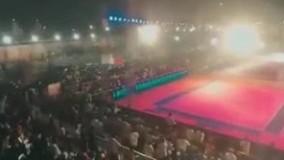 ۱۰۰ زخمی در حادثه ریزش جایگاه تماشاگران در هند