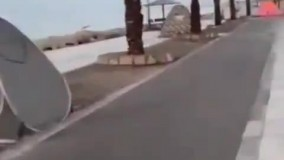 چادرهای مسافران نوروزی در بندرعباس