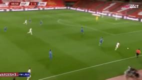 خلاصه بازی اسپانیا ۱ - یونان ۱