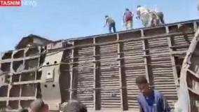 ۳۲ کشته بر اثر برخورد ۲ قطار در مصر