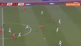 خلاصه بازی صربستان 2-2 پرتغال