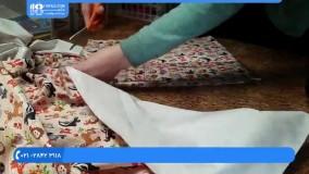 روش دوخت تشک پلاستیکی برای تعویض نوزاد