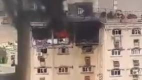 انفجار گاز شهری در یک مجتمع مسکونی اهواز
