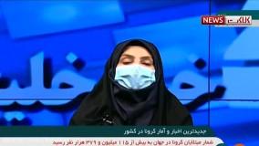 آخرین آمار کرونا در ایران، ۱۳ اسفند ۹۹: فوت ۸۶ نفر در شبانه روز گذشته