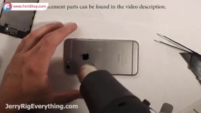 آموزش تعویض باتری گوشی آیفون 6 پلاس - فونی شاپ