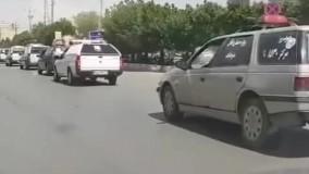 رژه خودروهای حمل جنازه در اهواز