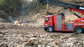 ماشین کنترلی آتشنشانی HUINA 1561/ایستگاه پرواز