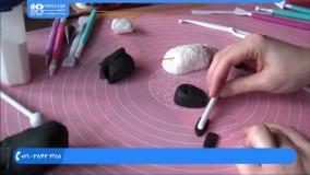 نحوه ساخت عروسک خمیری گوسفند برای کودکان