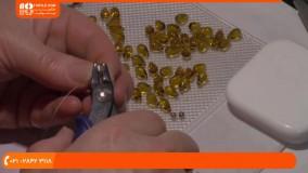 ساخت دستبند مهره ای _ طرز ساخت زیورآلات زیبا