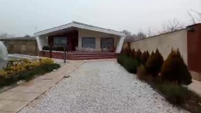 1050 متر باغ ویلای شیک و مدرن در شهریار
